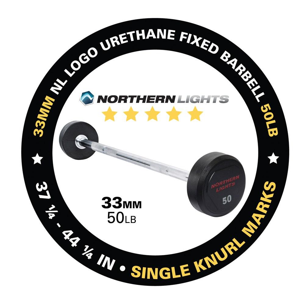 BFU050 fixed urethane barbell