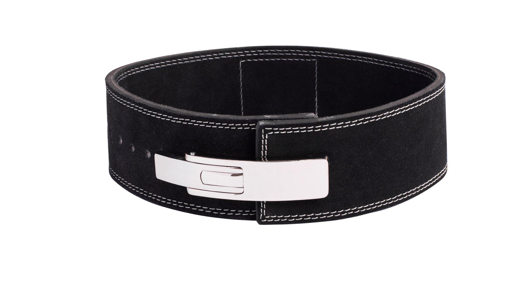 Met-X Power Lifting Leather Lever Pro Belt Gym Training Powerlifting Weight Belt